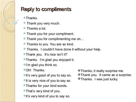 best compliments words complimenting and replying to compliments