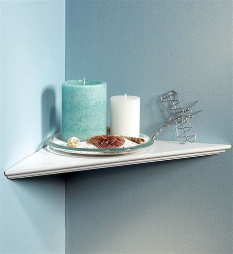 instant corner shelf in wall mounted shelves