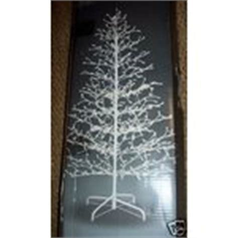 stick christmas trees with lights white lighted stick or twig tree new in box 12 18 2007