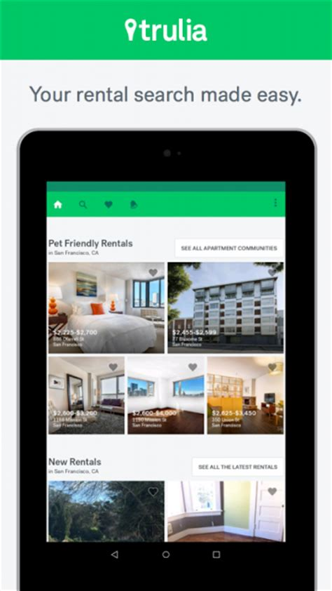 Rent To Own Homes App by Trulia For Rent Apk For Android Aptoide