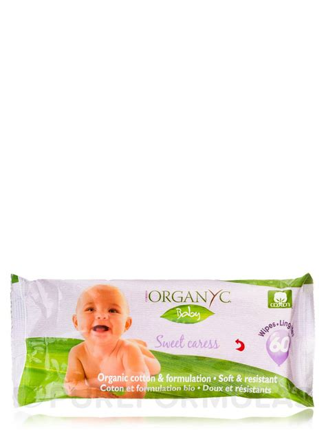 Sweet Baby Wipes Soft baby wipes sweet caress 60 count