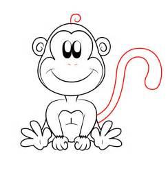 monkey cartoon drawings cliparts co
