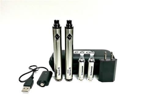 vision spinner 2 light codes vision spinner 2 kit with evod clearomizers