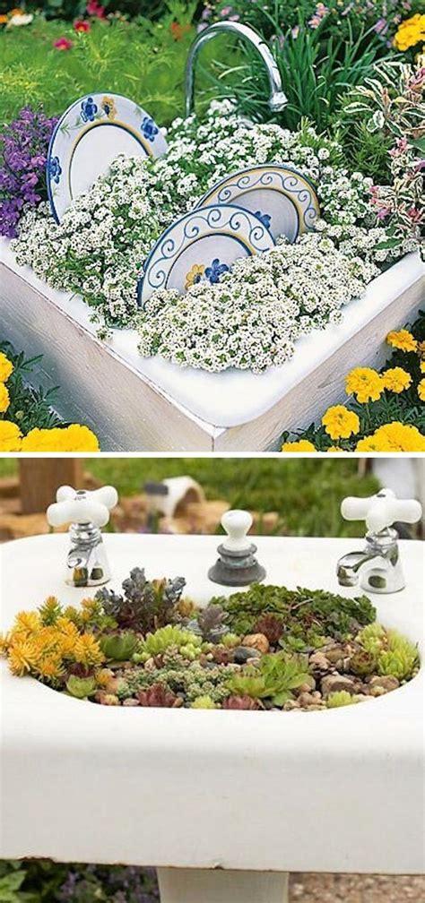 Diy Garden Planter Ideas by Creative Garden Container Ideas 6 Diy Home Creative