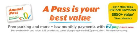 Busch Gardens Ez Pass by Buy A Bush Gardens Annual Pass And Get 3 Months Free The