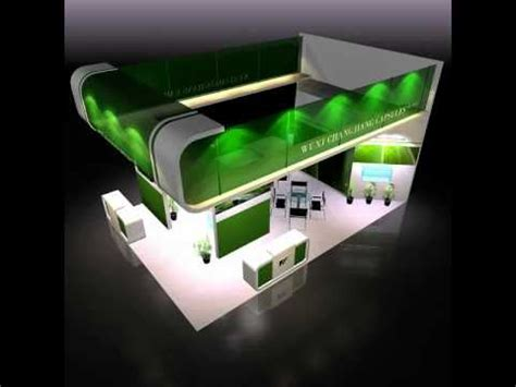 booth design youtube 3d model of exhibit booth design 019 youtube