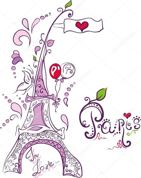doodle significado en español doodle creative eiffel tower in stock vector