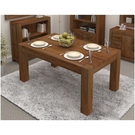 6 seat dining room table linea solid walnut home dining room furniture four to six