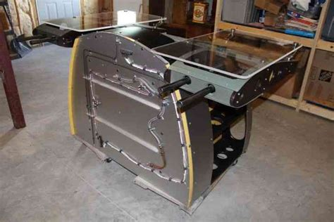aircraft wing desk for sale aviator desk wwii aircraft inspired aluminum and wood
