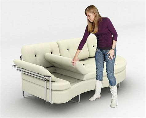 ergonomic couch laidback multifunctional futon sofa for perfect ergonomic