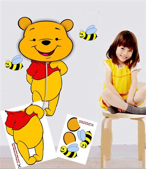 Pooh Kaos 3d Umakuka Anak Anak jual wall sticker unik stiker dinding murah