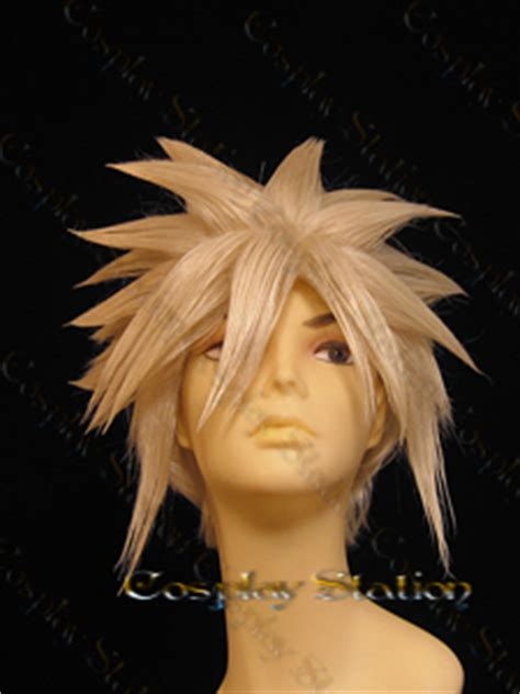 Rambut Kostum Wig Cloud Strife wig cloud strife wig made of high quality material