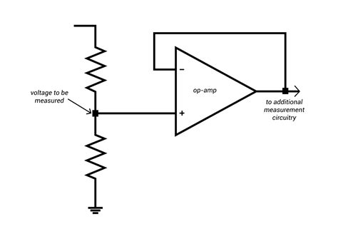 resistor divider op beyond the dmm components and circuits for measuring current and voltage