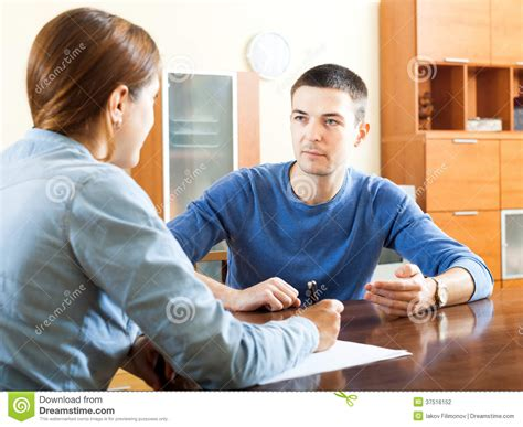 questionnaire for social worker stock photography