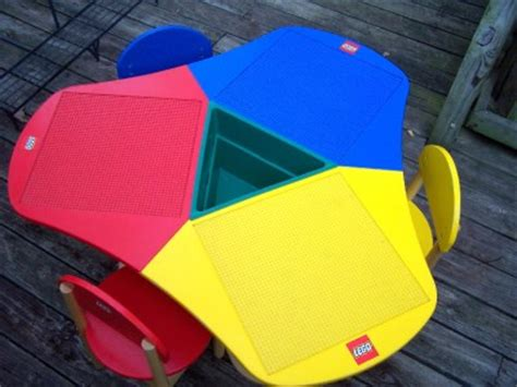 lego table with three chairs lego duplo 3 seat activity play table 3 lego chairs