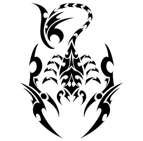 google tribal tattoos scorpion tribal recherche inspiring ideas