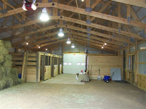 Interior Barn Lights by Zotz Electrical Lucky S Place Inside Barn