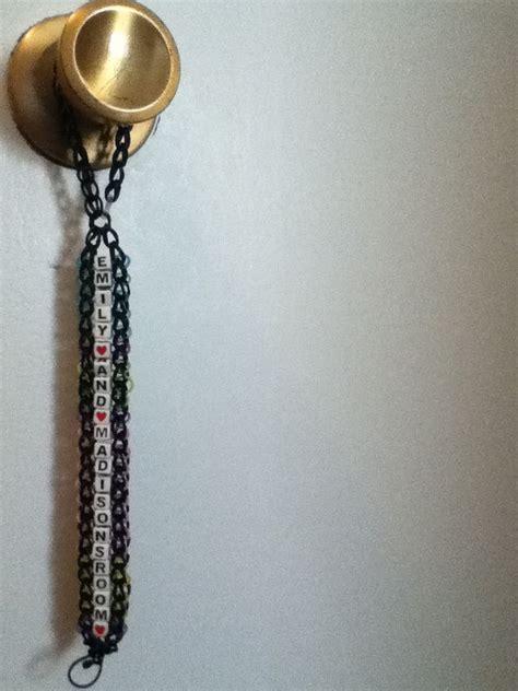 Rubber Band On Door Knob by Door Knob Hanger