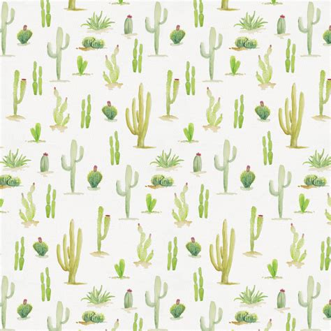 Rugs Use Watercolor Cactus Fabric By The Yard Red Fabric