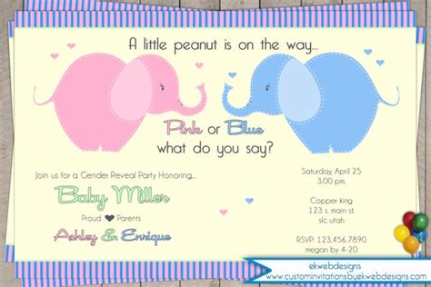 baby shower for both sexes march 2015 custom invitations by ekwebdesigns
