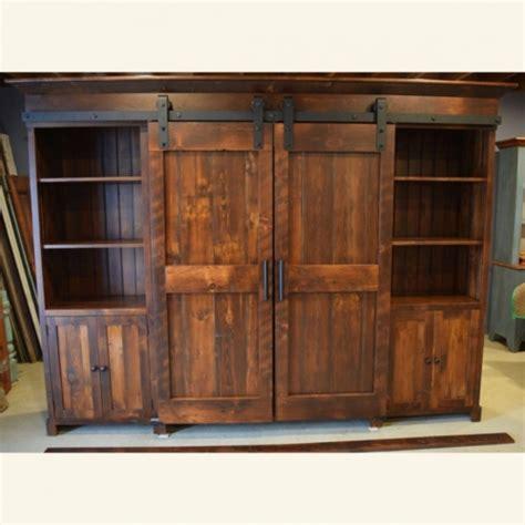 barn door cabinets for sale rustic low profile barn door entertainment cabinet