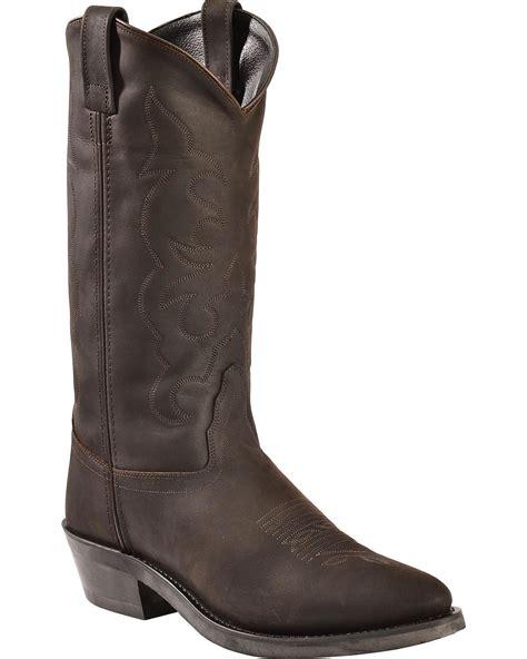 mens west boots west s trucker western work boot tbm3051 ebay