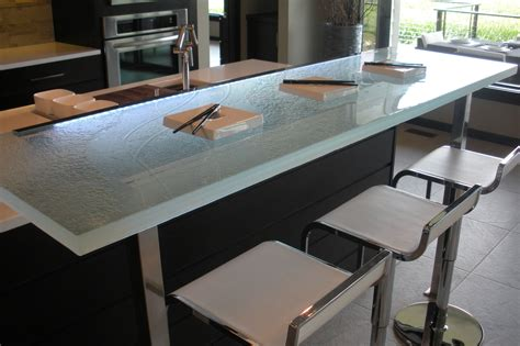 Glass Kitchen Countertops The Ultimate Luxury Touch For Your Kitchen Decor Glass