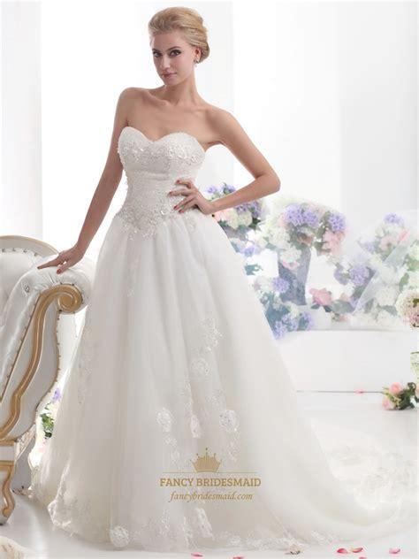 ivory beaded wedding dress ivory strapless beaded tulle wedding dress with beaded