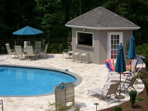 Pool House Ideas by Pool Cabana Plans That Are For Relaxing And