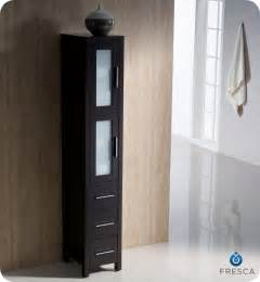 bathroom cabinets bath cabinet:  bathroom linen side cabinet espresso side cabinets bath