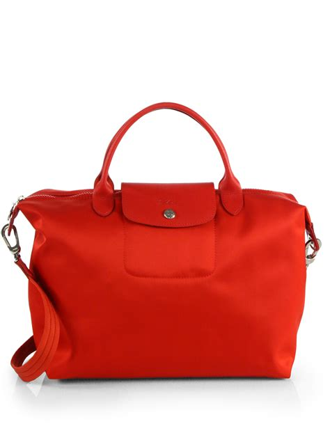 Termurah Longch Le Pliage Neo Poppy longch le pliage neo tote in lyst