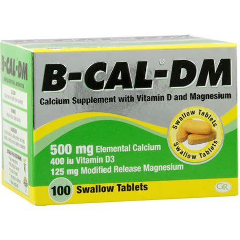 m test supplement b cal dm calcium supplement 100 tablets clicks
