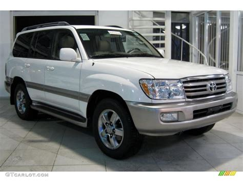toyota land cruiser 2007 natural white 2007 toyota land cruiser standard land