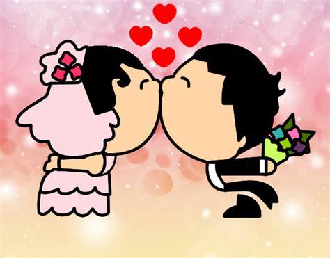 imagenes para dedicar a recien casados dibujo de dibujo amor pintado por lunna en dibujos net el