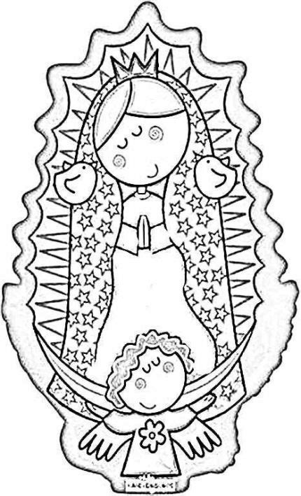 imagenes virgen de guadalupe para dibujar imagenes animadas de la virgen de guadalupe para pintar