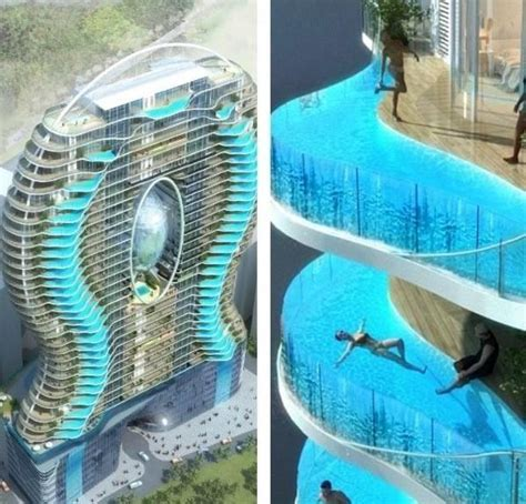 hotel with pool outside every room zwembalkons in mumbai zwembalkons hotel project most beautiful places in the world