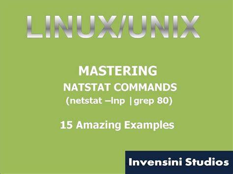 tutorial netstat linux mastering linux netstat command youtube