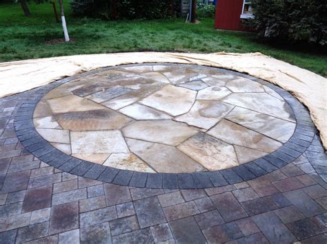 pin flagstone patio paver on