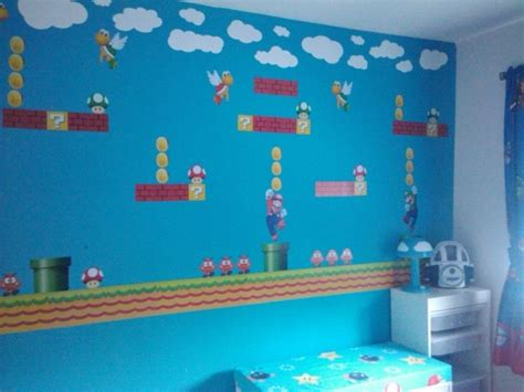mario room mario room justin would think i was the most awesome if i did this to his room
