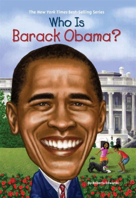 barack obama biography for students who is barack obama by roberta edwards scholastic