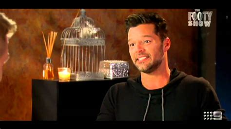 Ricky Martin Shows Footage Of Himself by When Beau Interviews Ricky Martin