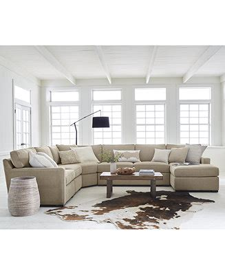 Sectional Sofa Macys by Furniture Radley Fabric Sectional Sofa Collection Created