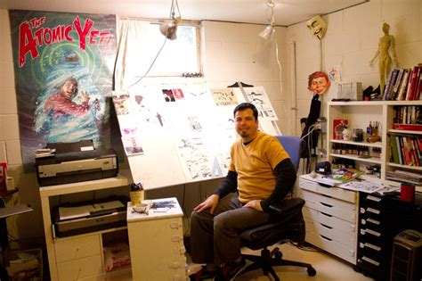 The Office Creator by Doodler To Comic Book Creator Artist Stays True To His