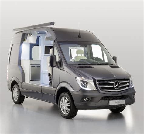 Mercedes Sprinter Caravan by Mercedes Sprinter Caravan Concept Cing De Lujo