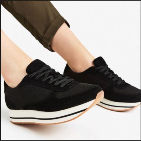 Platform Mesh Sneakers zara shoes black platform sneakers mesh poshmark