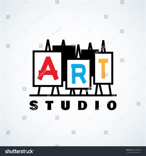 design studio logo vector templates logo design template art studio gallery stock vector