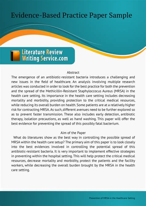 how to write an evidence based practice paper write an evidence based practice paper