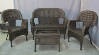 Clearance Wicker Patio Set by Outdoor Patio Furniture Dealer Announces Labor Day Sale