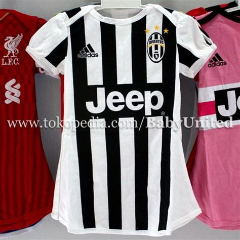 Kaos Baju Dress Baby Bayi Bola Manchester United Away 2017 18 jual juventus home dress baju bola bayi babyunited