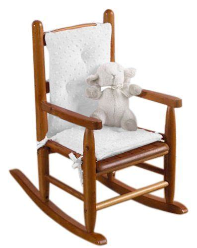 childs purple rocking chair baby doll bedding heavenly soft child rocking chair pad